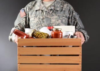 care package for service members