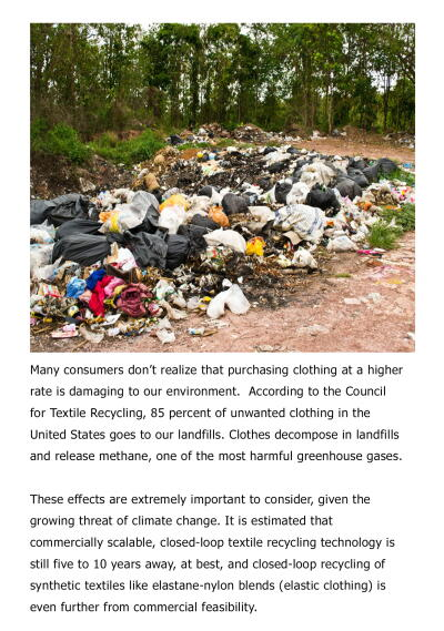 Planet Aid, environment, clothing, landfills, textile recycling