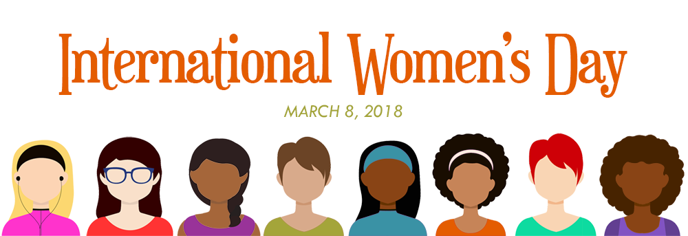Graphic for International Women's Day