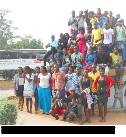 future teachers in Angola