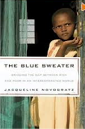 the blue sweater jacqueline novogratz