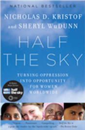half the sky Nicholas Kristof and Sheryl WuDunn