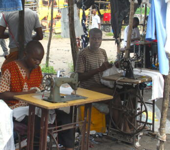 Beira, Mozambique, used clothing, Planet Aid