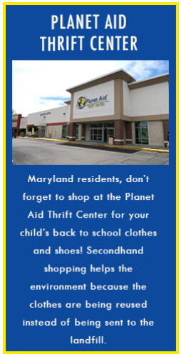 back to school, school, supplies, recycle, reduce, reuse, green, thrift center, secondhand, planet aid