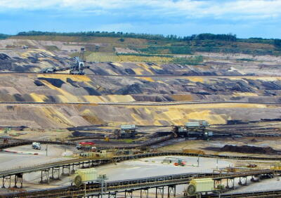 open pit mining, mining, coal, pollution, open pit, planet aid