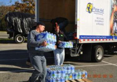 water, donation, relief, disaster, hurricane, storm, planet aid