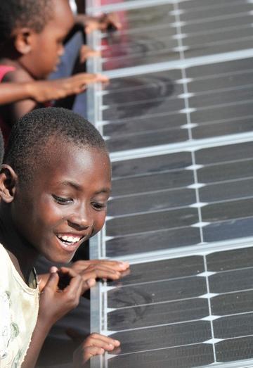 Planet Aid, Mozambique, ADPP solar power