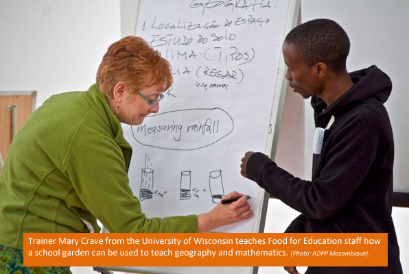 USDA, Planet AID, school feeding