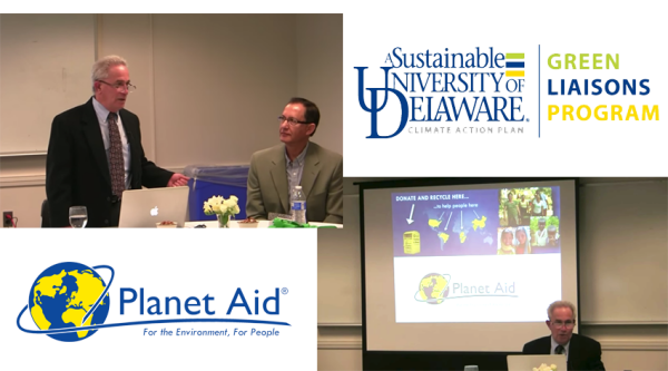 Planet Aid Speaks to Green Liaisons at University of