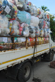 used clothing, secondhand, bales, global, planet aid, recycle