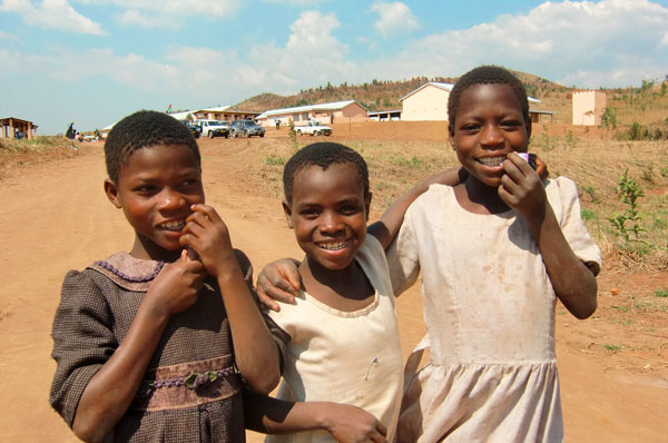 Girls in Malawi - child marriage ban