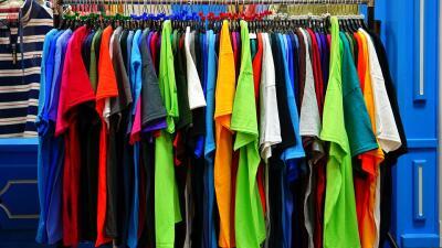 cotton, tshirt, environment, thrift, thrift shop, national thrift shop day, planet aid, planet aid thrift center