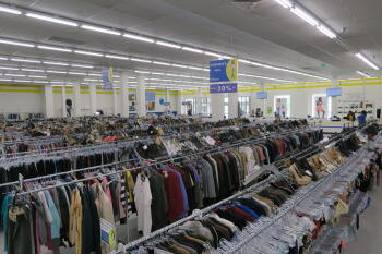 thrift, thrift shop, national thrift shop day, planet aid, planet aid thrift center