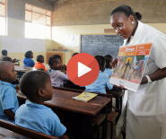 Video: Teaching Reading in Mozambique picture