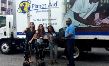 Planet Aid making its first delivery to IRC