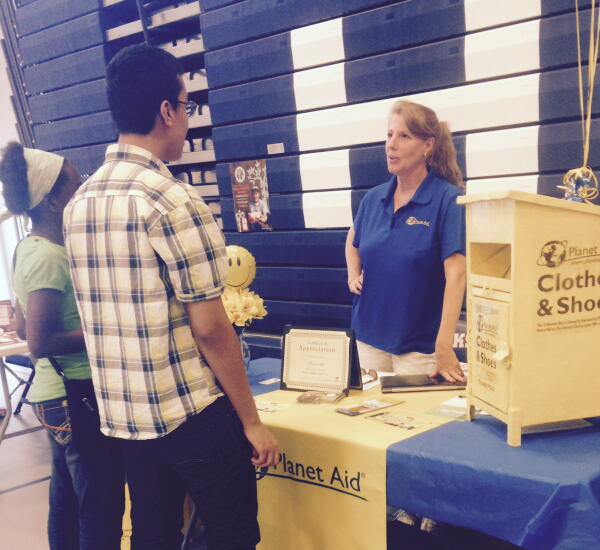 southeastern regional planet aid green fair