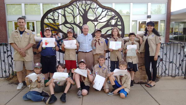 cub scouts earth day art contest phildaelphia planet aid