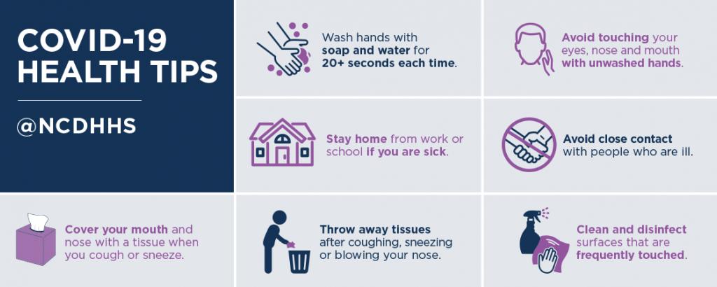 COVID-19 Health Tips