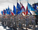 Ashe County ROTC in Holiday Parade