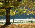 Ashe County in the Fall