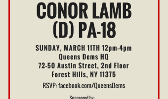 Phone Bank for Conor Lamb (D) PA-18        #BlueWave2018