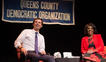 Queens Dems Host Mayor Pete for First #2020 Fireside Chat
