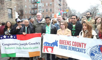 Queens Dems Weekend of Action Photos