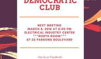 Stevenson Regular Democratic Club March Meeting