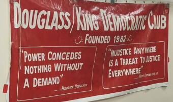 Douglass King Democratic Club October Meeting