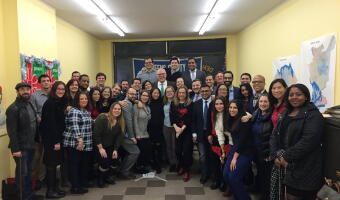 Queens Dems Holiday Party 2018