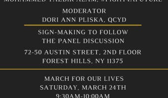 A Conversation on Gun Control -- March For Our Lives