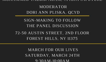 March For Our Lives NYC with Queens Dems and QCYD
