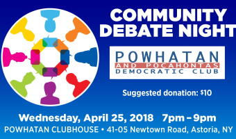 Powhatan and Pocahontas Dem. Club Community Debate Night
