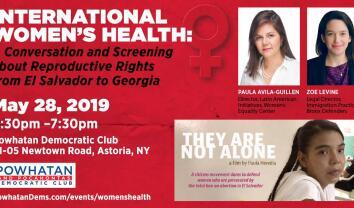Powhatan & Pocahontas Dem. Club: A Conversation on International Women's Health