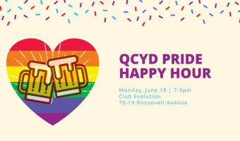 QCYD Pride Happy Hour with Stonewall Dems President Rod Townsend