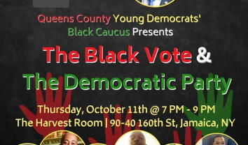 QCYD Black Caucus' The Black Vote & the Democratic Party Panel