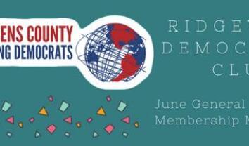 QCYD & Ridgewood Democratic Club Joint Meeting