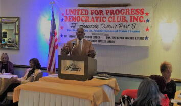 United for Progress Democratic Club October Meeting