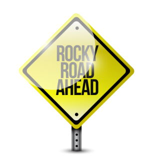 Rocky Road Ahead? image