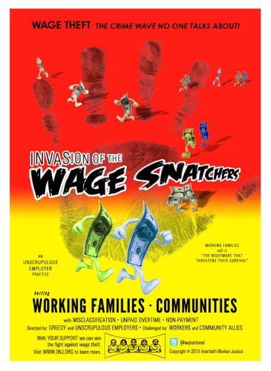 Invasion of the Wage Snatchers