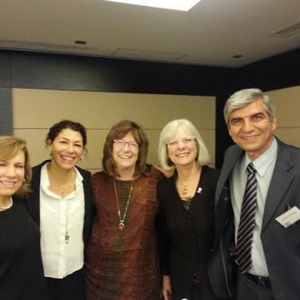 With Diane Nugent and International Colleagues