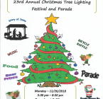 2018 Tree Lighting Flyer