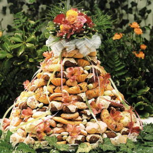 Wedding Cookie Cake / <i>Torta di Biscotto di Nozze</i>
