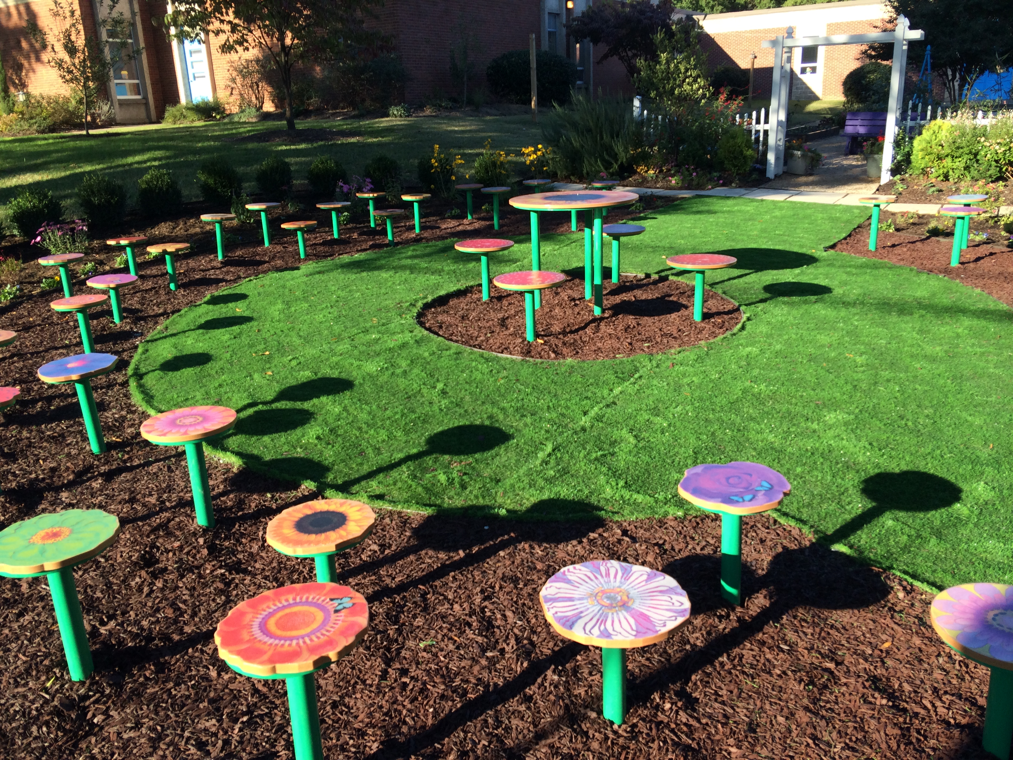 Chimborazo Elementary School's Teaching Garden