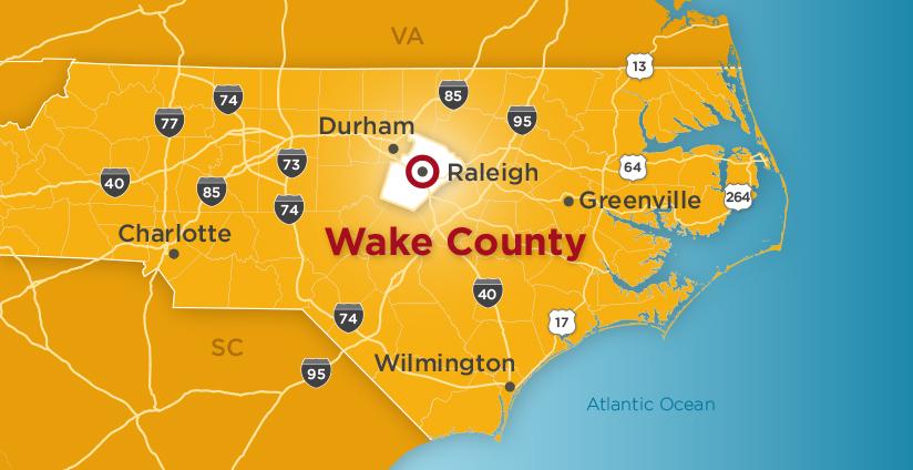 Wake County Regional NC View