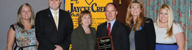 Dr. Phillips is Jaycees' Boss of the Year
