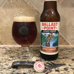 Ballast Point Dead Ringer in a The Hop Yard Glass