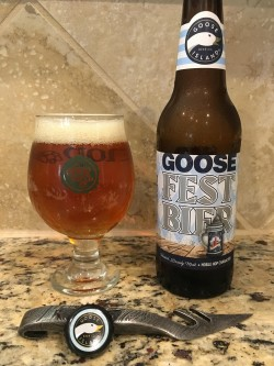 Goose Island Fest Bier in The Hop Yard glass