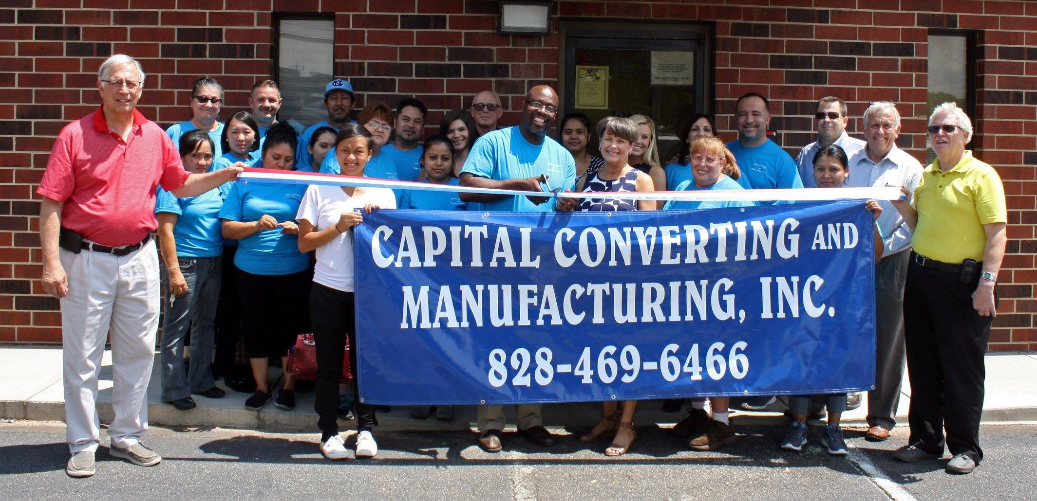 Capital Converting and Manufacturing is now open at 2066 Industrial Drive, Newton. The new business makes covers for loads of lumber that are transported across the country by truck or train.