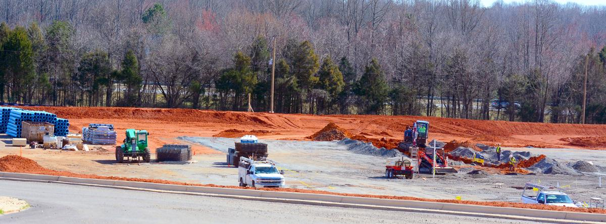 Premiere Development is building a 500,000-square-foot facility for Arhaus Furniture in Conover.  Photo by Robert C. Reed, Hickory Daily Record